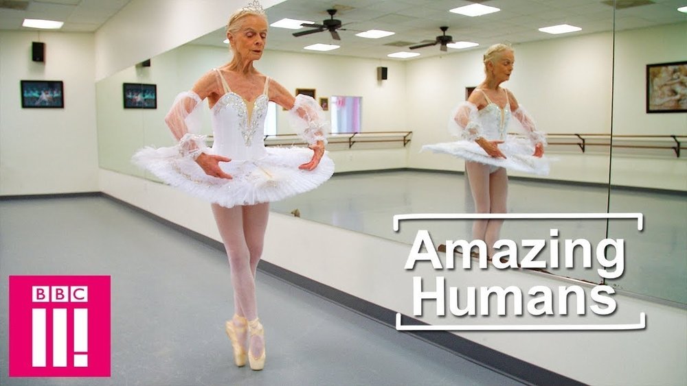 Amazing Humans: The 77 year old ballet dancer