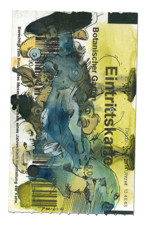 Gewächs.Peer Kriesel.2015.8.5x5.5cm.Watercolour & ink on paper.jpg
