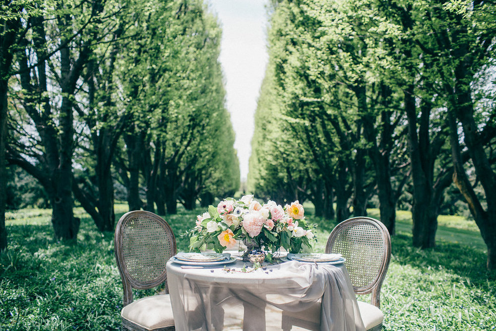 Elegant Garden Sweetheart Table