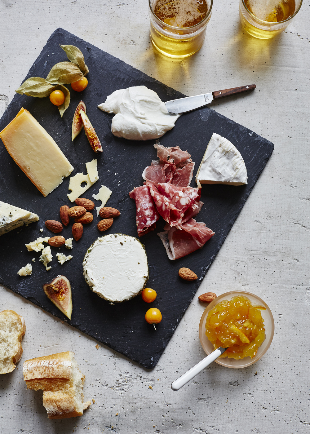Cheese Plate : cheese on a plate - Pezcame.Com
