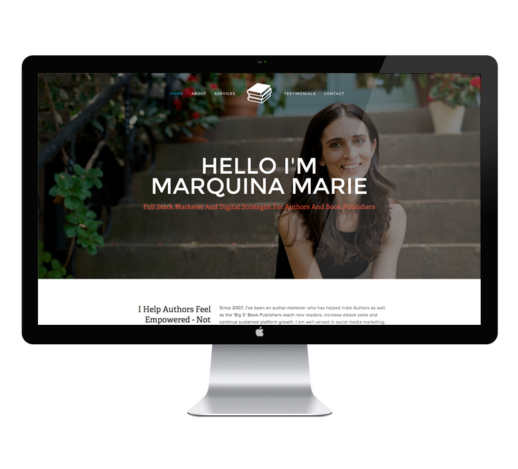 Marquina Marie Website