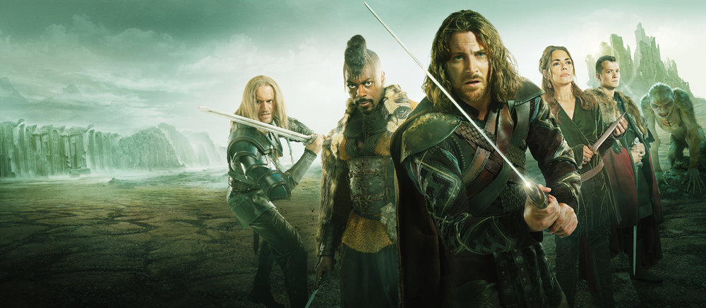 Publicity and International Marketing campaign for the TV show Beowulf, for ITV