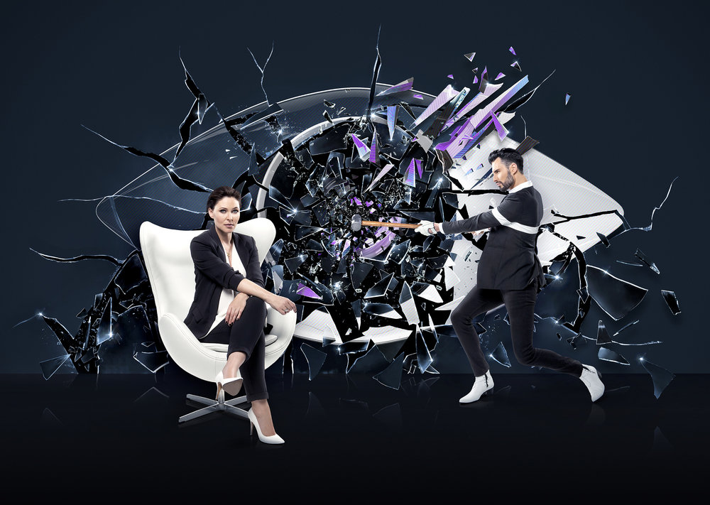 Publicity campaign for the TV show Big Brother, for Channel 5