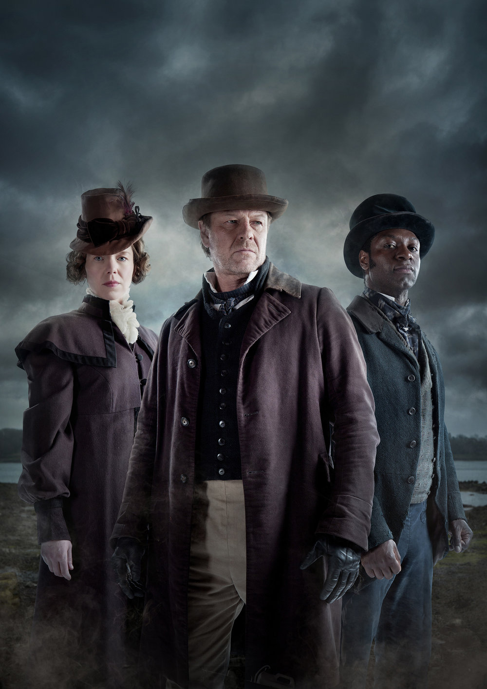 Publicity campaign for the TV show The Frankenstein Chronicles, for ITV