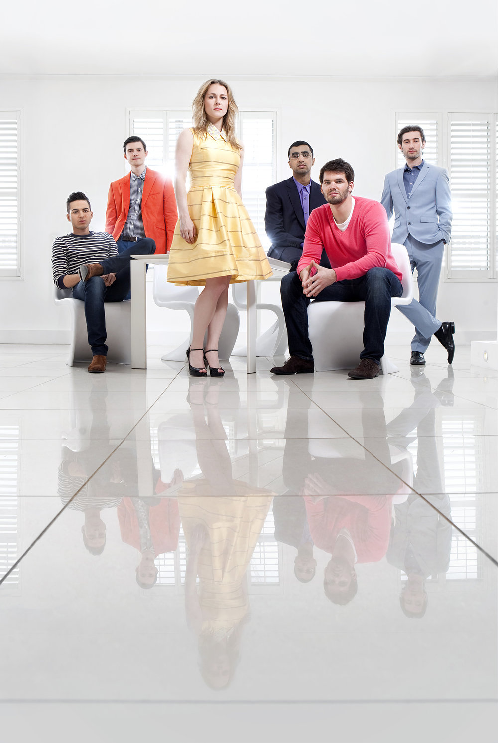 Publicity campaign for the TV show Million Dollar Intern, for BBC Worldwide