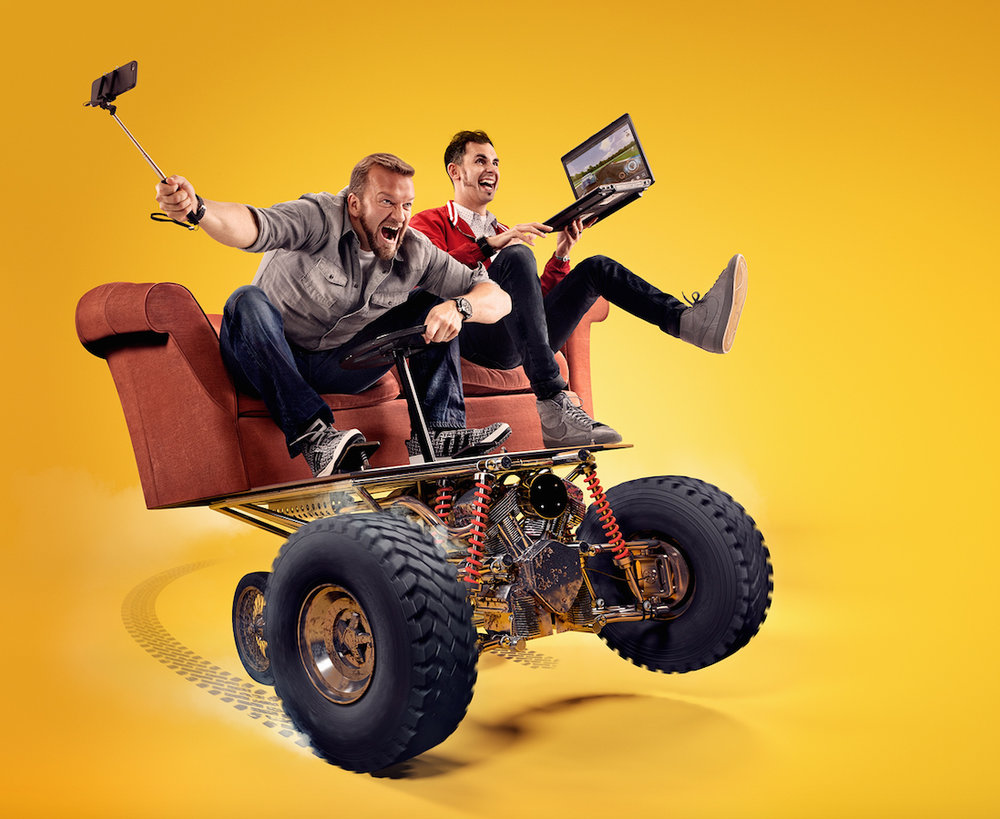 Publicity and marketing campaign for the TV show Motorheads, for BBC Worldwide