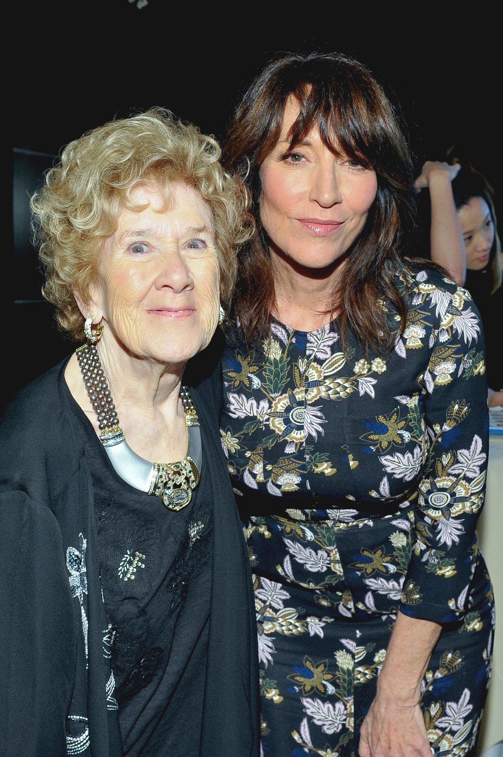 Peggy Albrecht and Katey Sagal