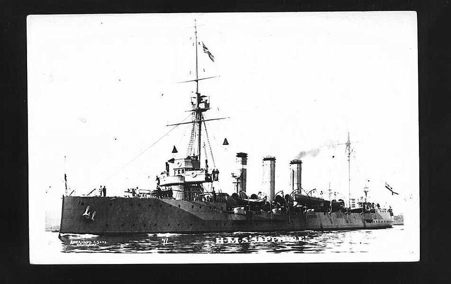 The HMS Sapphire  (Navel-History.net)