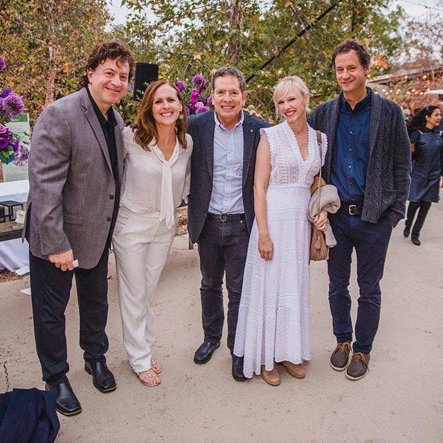 📸: Scene from @treepeople_org #HarvestMoonGala with some funny people. 📸(L-R): #SteveKoren, @theofficialsuperstar, @thedavidzucker, #KathrynKoren, @fritzchesnutstudio.