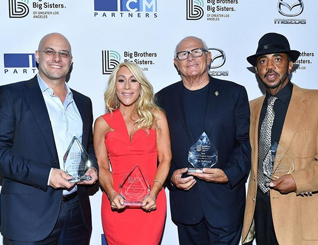 @bbbsla's Big Bash Gala raised over $1 Million! . . What a record year with honorees Chris Silbermann of @icmpartners, @lorigreinershark, and Steve Soboroff and Terry A. Williams.
