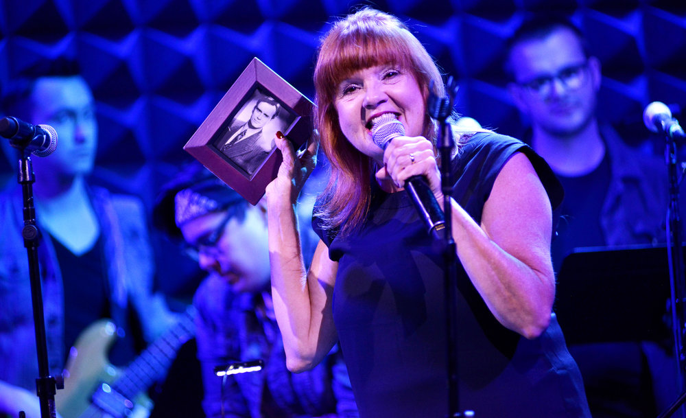Orange is the New Black's Annie Golden in Broadway Bounty Hunter at Joe's Pub, 2017. (Photo by Michael Kushner)