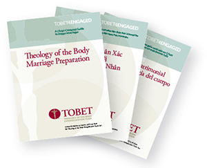 Theology of the Body Marriage Preparation books are available in English, Spanish, and Vietnamese
