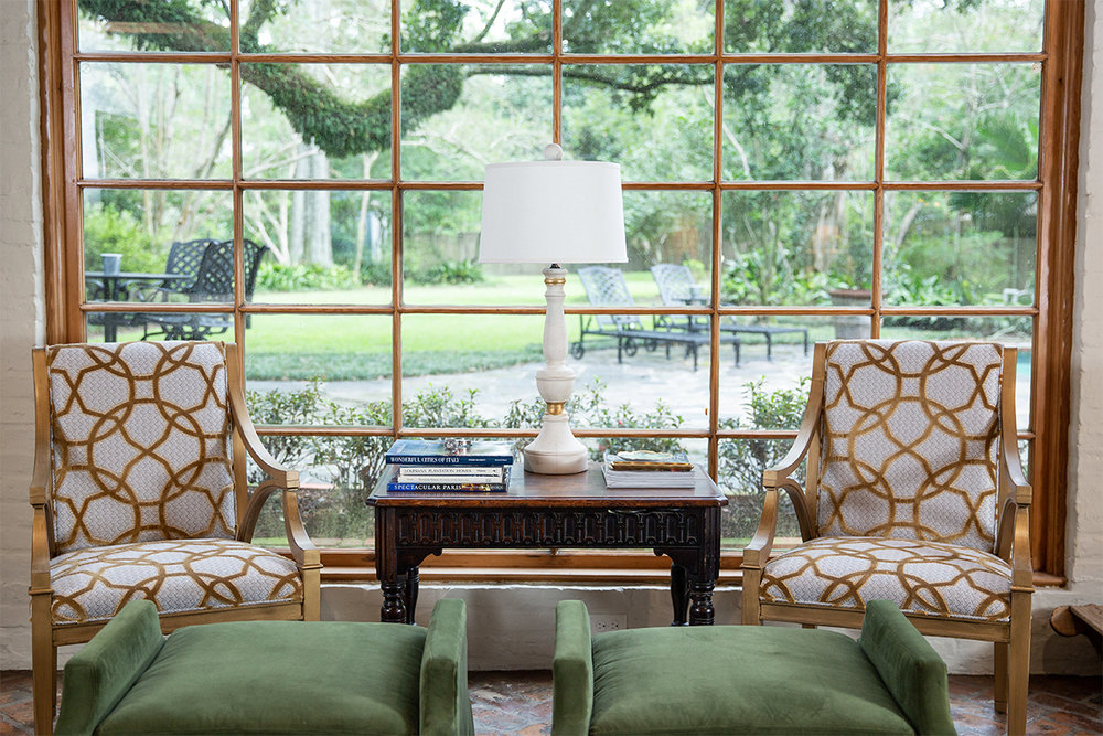 When clients bought a historic A. Hays Town home on the LSU Lakes, they asked Erin to accentuate the home's beautiful features while also ensuring it be updated, comfortable, and functional.