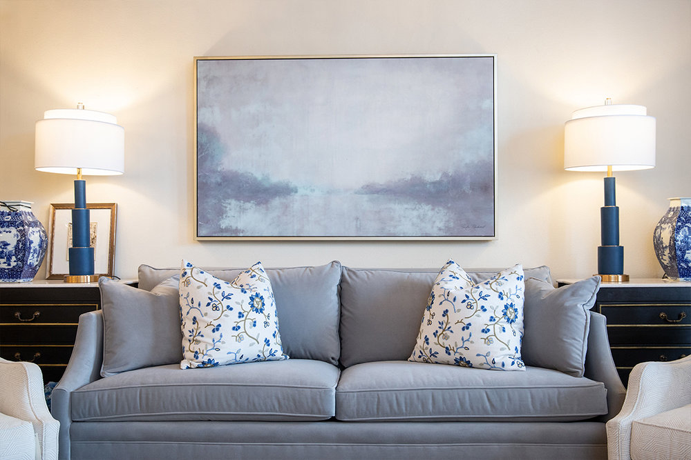 Good things take time! Gradually updating is often the most cost-effective route to finding balance between beautiful and functional in your living spaces.