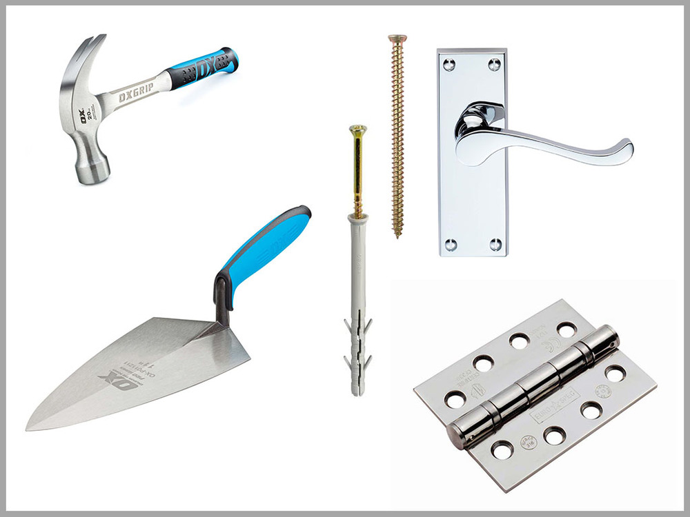 Tools Fixings & Ironmongery