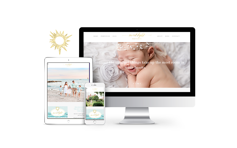 Sweet Light Portraits Website
