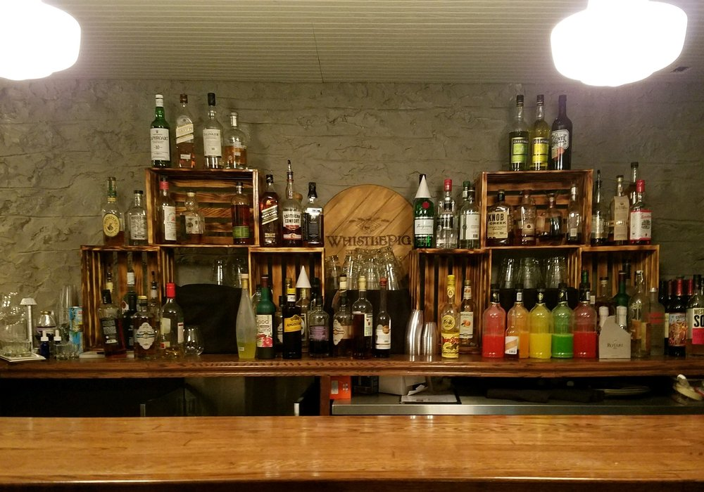 Charlie's on Main speakeasy bar