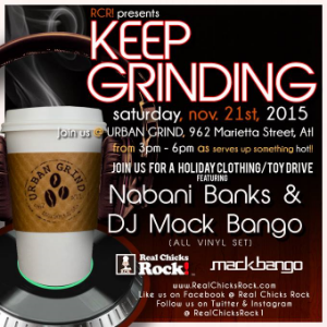 Keep Grinding November Holiday Drive