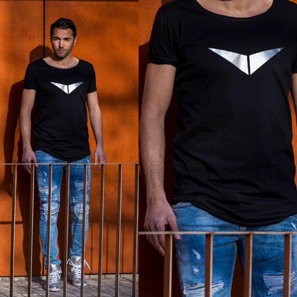 Silver Hero Longshirt (35,00€)