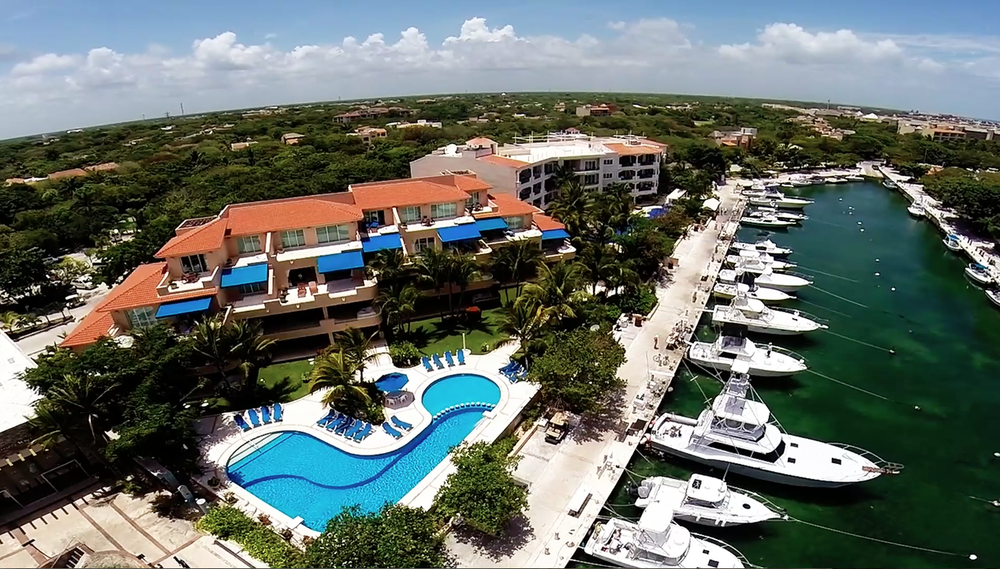 Puerto Aventuras, Marina and Villas Porto Bello
