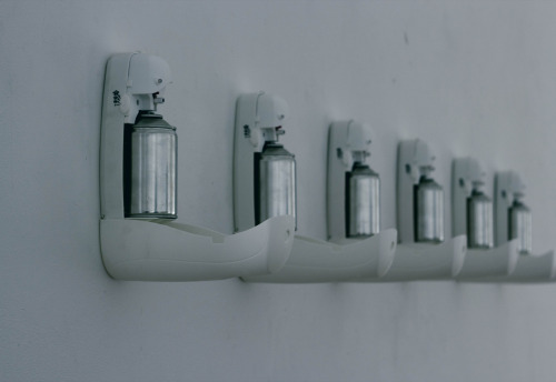 Peloton  , Installation of 7 perfume disposer, 2012