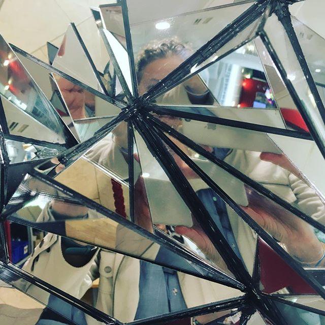 """Perspectives of me"" Work by fellow artist Iris Musel for 'Losing One's Sense of Self' #artsinmind festival @kingsioppn @culturalkings"