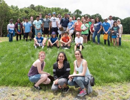 Students with Gregg Tepper Photo by Ray Bojarski