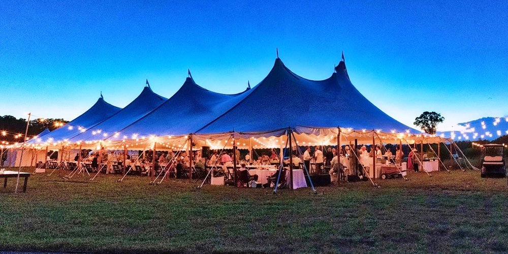 The 2018 Annual Dinner Party Tent