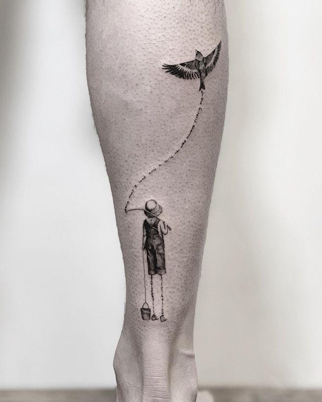 He always took care of me 🌑🌑🌑 🌑🌑🌑 🌑🌑🌑 #snuffy #tattoo#tattooartist#realismtattoo #photography#tattoooftheday #minimalism#minimaltattoo #fineline #minimaltattoos#inked#tattooartist #littletattoo#retrominimal#thinline #Inkstinctsubmission#realism#nyc#brooklyn#willamsburg #tattooidea #contrast #contrast #minimal #art #ink #blxckink #tatuaje