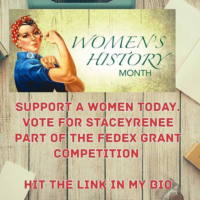 HIT THE LINK IN MY BIO  #women #staceyreneedesigns  #womenhistorymonth #homebasedbusiness