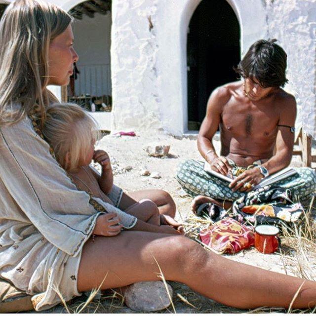 Joni Mitchel - Ibiza 1970s   #summer #bloomingdreamer