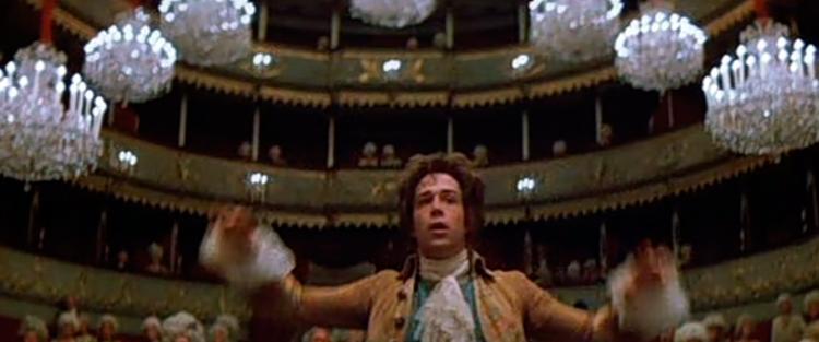 74. Amadeus - Amadeus é um filme maravilhosamente triste. Amadeus é sobre frustrações. A frustração de não ser tudo aquilo que se deseja. A frustração de saber que há alguém infinitamente melhor precisamente naquilo que mais admiramos e tentamos alcançar. É sobre a frustração de ver um legado esquecido à medida que a velhice se aproxima. (…) Milos Forman dá-nos uma obra que é na verdade um triângulo composto por Mozart, Salieri e o divino. Leia mais