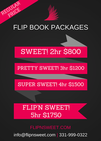 CHICAGO FLIP BOOK PACKAGES