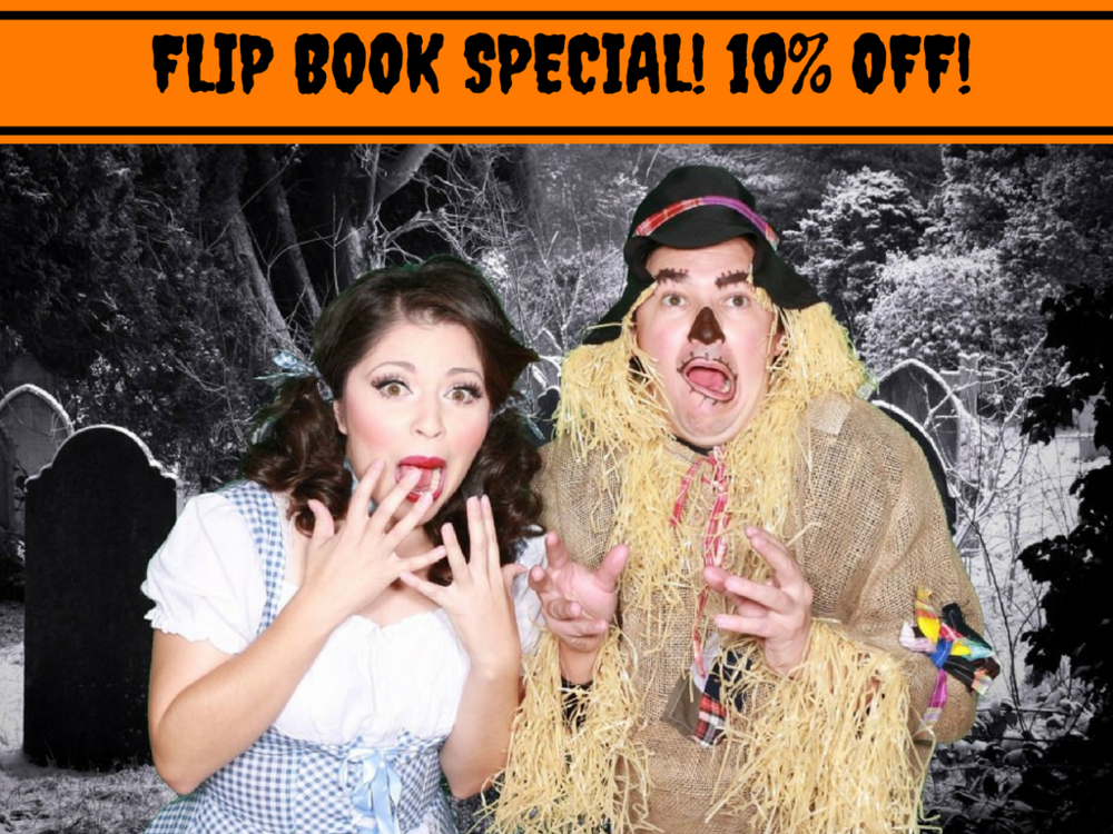 FLIP BOOK CHICAGO HALLOWEEN SALE