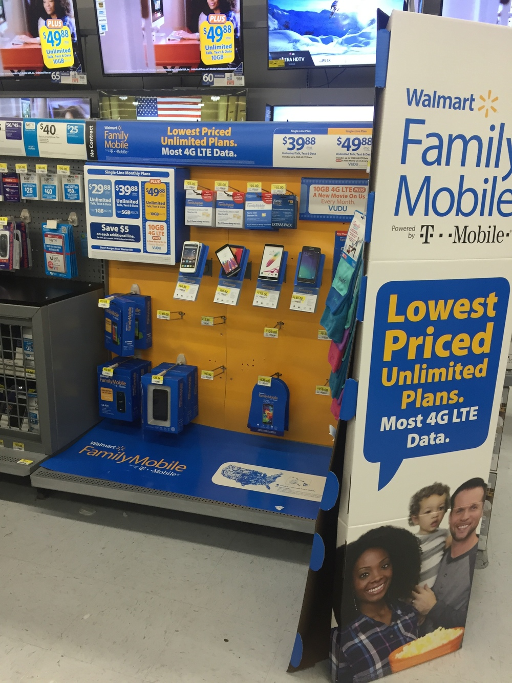 I was so hype to see the Gabe and Babe ad yall! LOL. As you can see people are ON IT! My Walmart had A LOT of phones sold out!