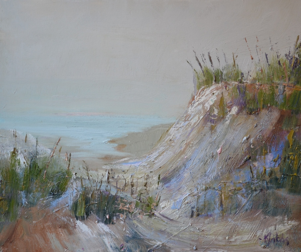 """High Dune"", Oil on Canvas, 24 x 24 (SOLD)"