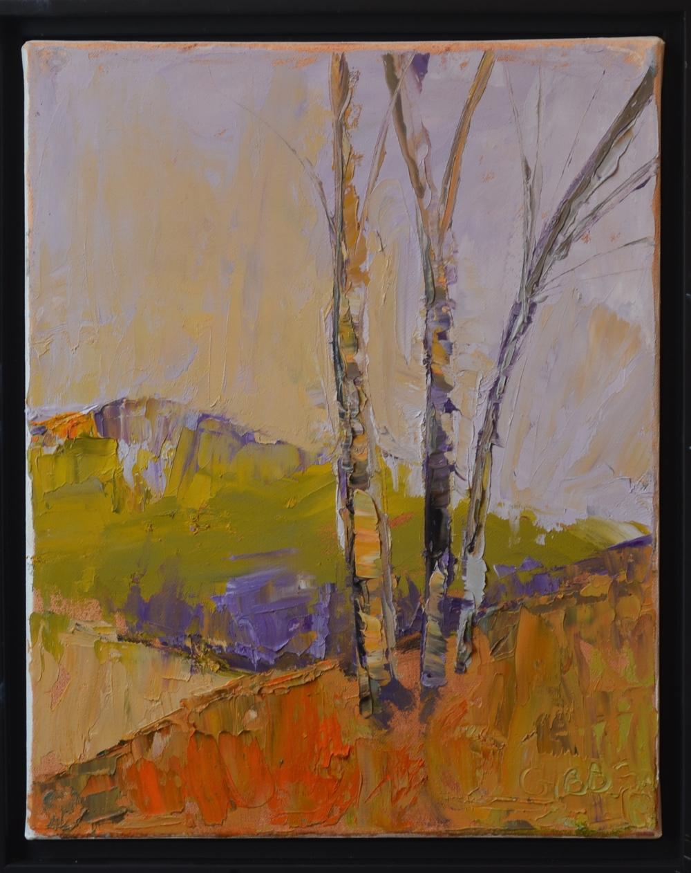 """Winter"", Oil on Canvas, 11 x 14"