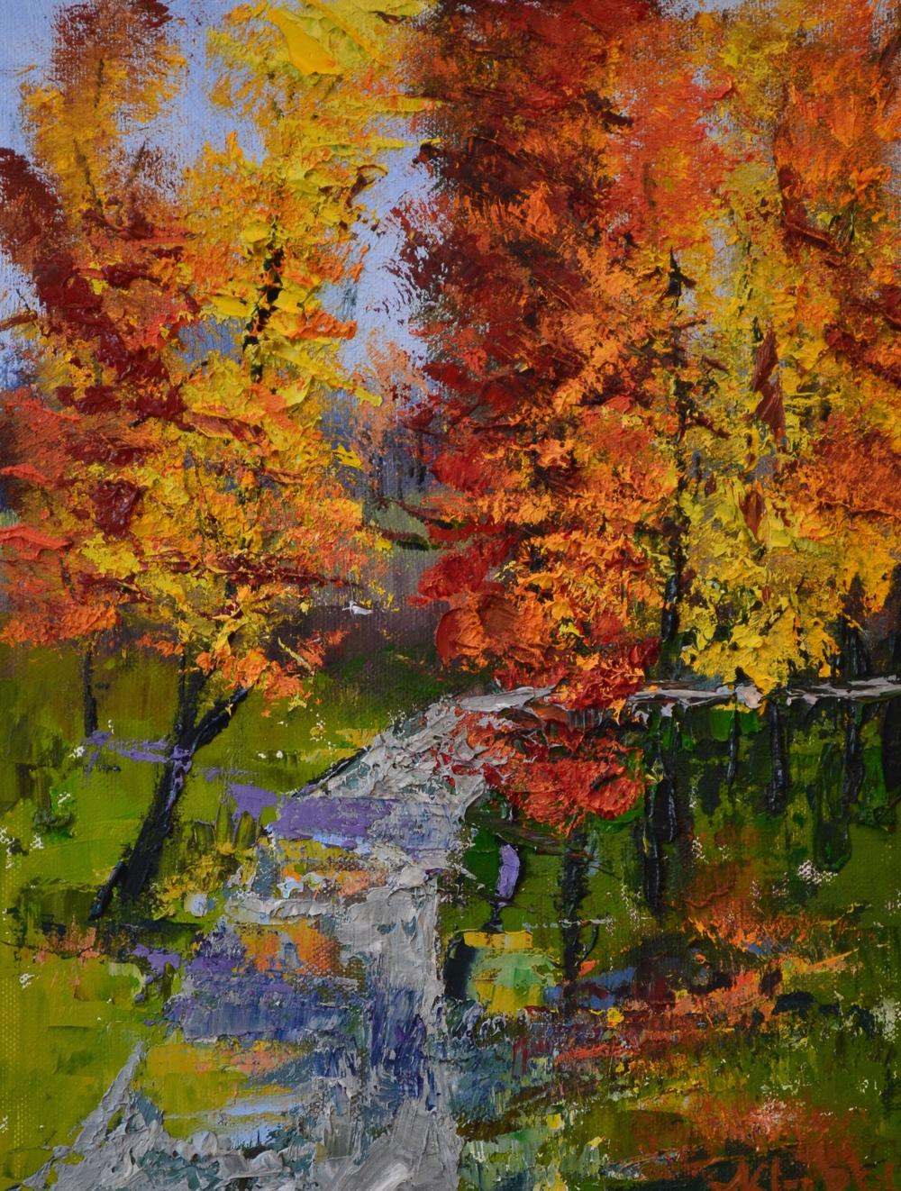 """""""Autumn"""", Oil on Panel, 8 x 10"""