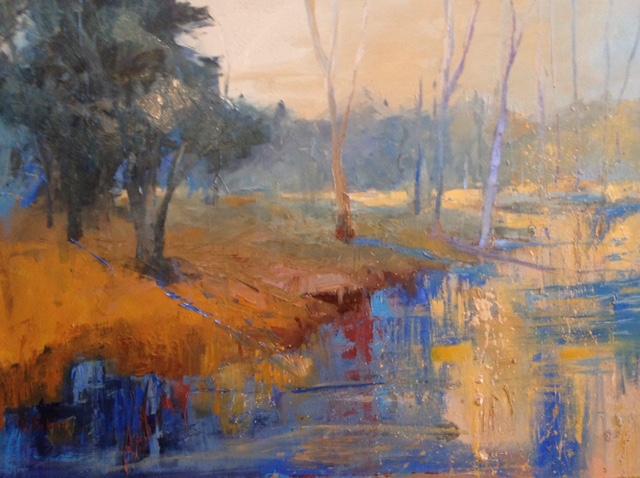 """""""Autumn Dream"""", Oil on Canvas, 30 x 40"""