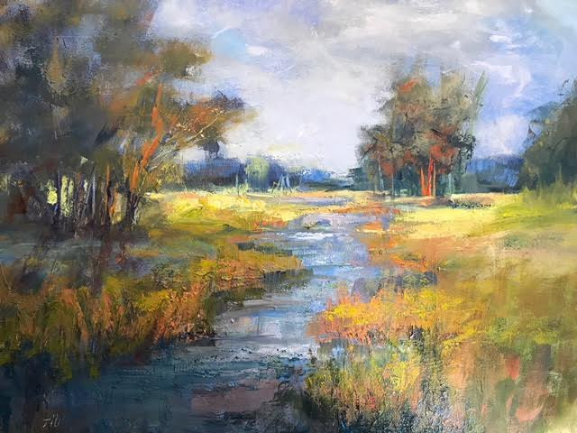 """""""Charleston Low Country"""", Oil on Canvas, 30 x 40"""