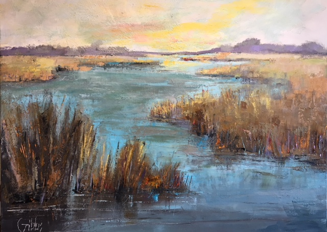 """Charleston Magic"" Oil on Canvas, 36 x48"