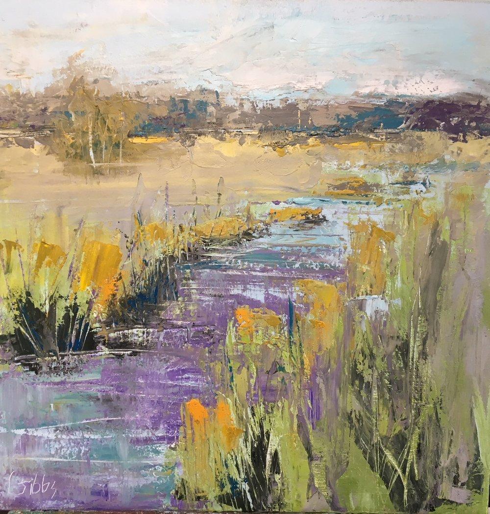 """""""Lyrical"""", Oil on Canvas, 30 x 30"""
