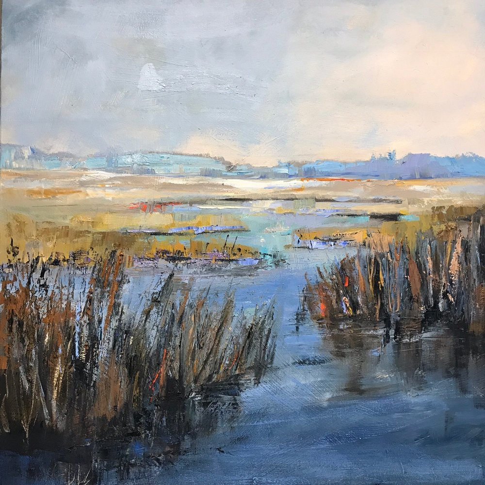 """Carolina Song"", Oil on Canvas, 36 x 36"