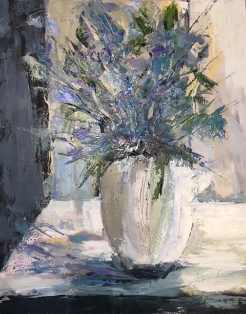 """Morning Light"", Oil on Canvas, 30 x 40"