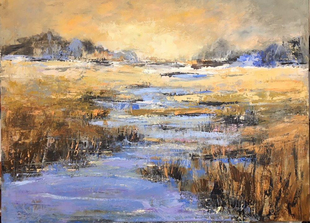 """""""Harmony"""", Oil on Canvas, 36 x 48"""