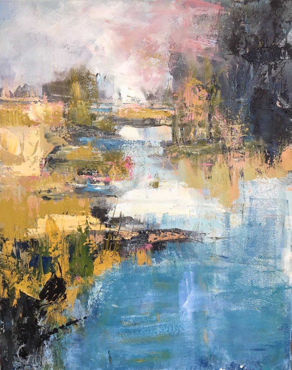 """Quiet"", Oil on Canvas, 30 x 20"