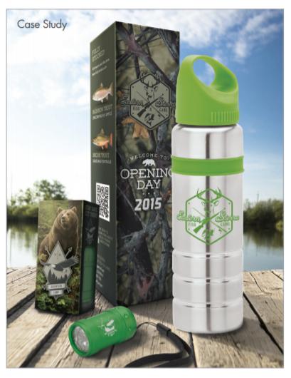 custom packaging water bottle