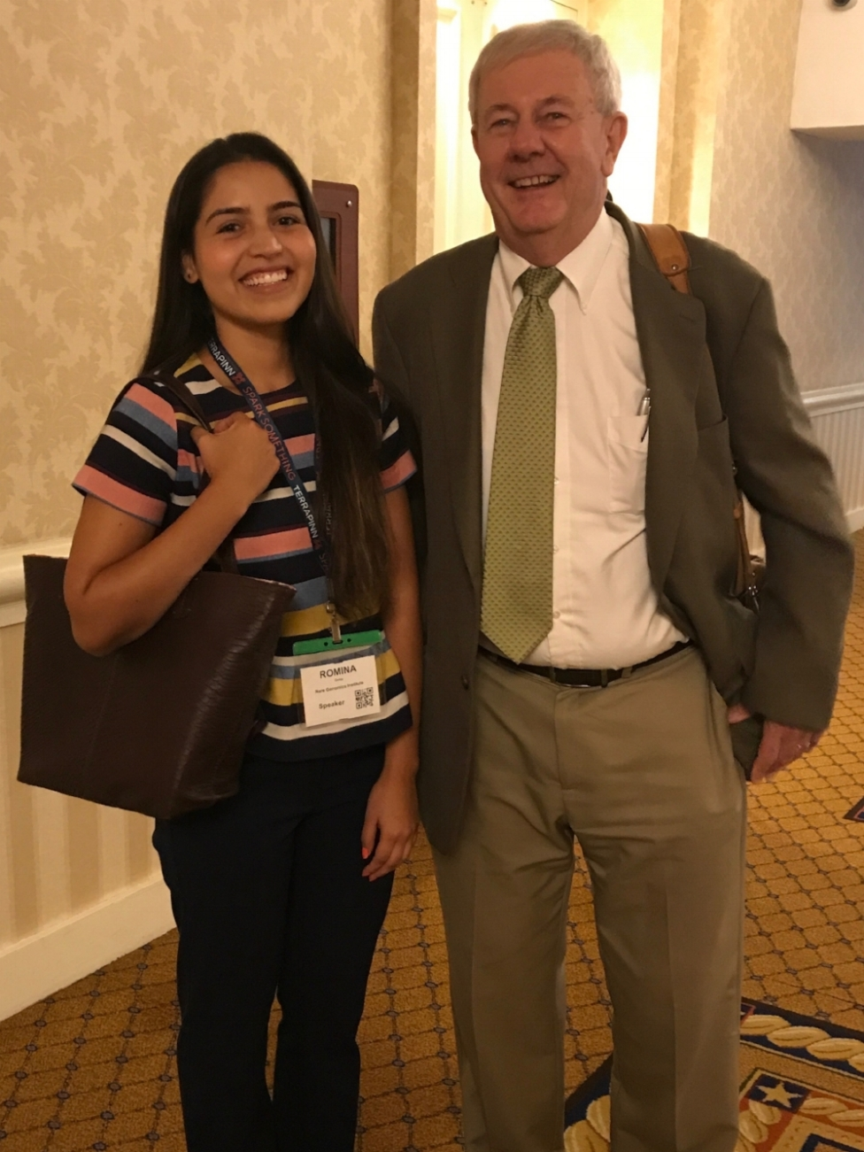 - Romina Ortiz (COO & VP Patient Advocacy) with Stephen C. Groft, PharmD.Steve is currently a Senior Advisor to the Director, National Center for Advancing Translational Sciences at NIH. He served as the Director of the Office of Rare Diseases Research (ORDR) in NCATS at the NIH from 1993-2014. His major focus has been on stimulating research with rare diseases and developing information about rare diseases and conditions for health care providers and the public.