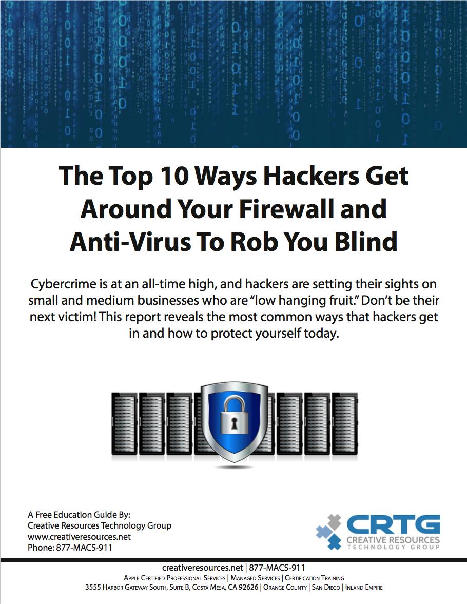 Top 10 Ways Hackers Get Around Your Firewall