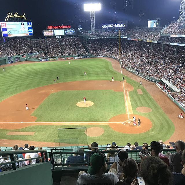 Even authors with a deadline take a night off. One of my favorite places ⚾️ #fenway #redsox #author #wip #rtdonlon